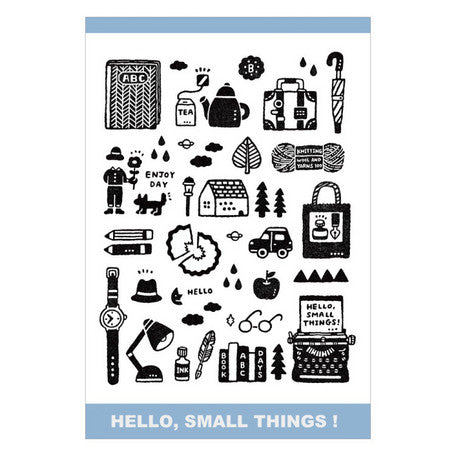 eric - Hello, Small Things! Postcard IV