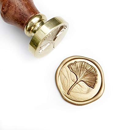 Wooden Wax Seal | Ginkgo