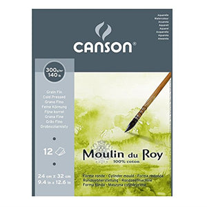 Canson® Moulin du Roy® (24 x 32CM) Cold Pressed // 300gsm