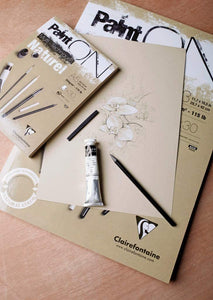 Clairefontaine Paint'ON Sketch Pad // Natural Color