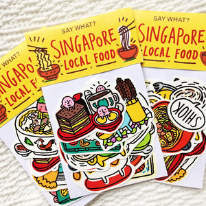 Say What? | Singapore Local Food Sticker Pack