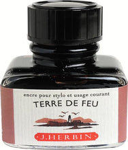 Load image into Gallery viewer, J.Herbin Fountain Pen Ink 30ml - Terre De Feu