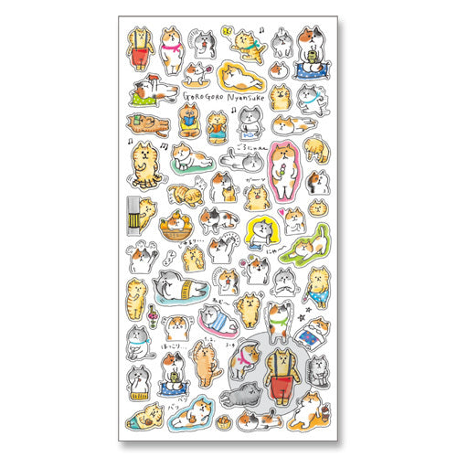 Mind Wave Gorogoro Nyansuke Everyday Stickers