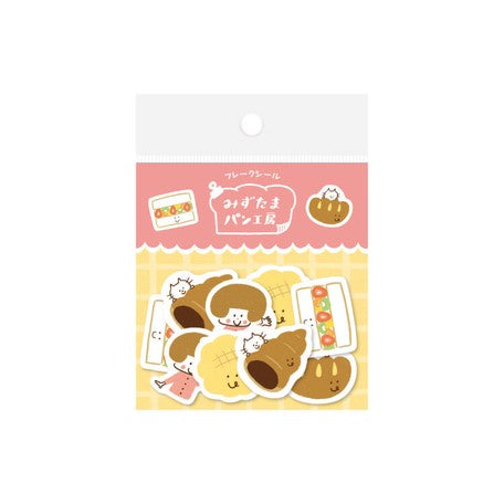 mizutama Flake Stickers // Sweet Bread