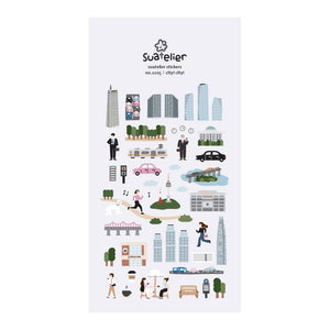 Suatelier Stickers | City! City!