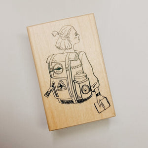 La Dolce Vita Rubber Stamp // Travel Girl