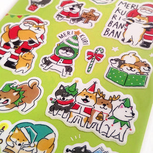 Mind Wave Christmas Shibanban Stickers