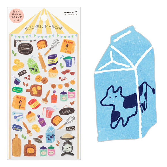 Sticker Marche / Tools for Baking