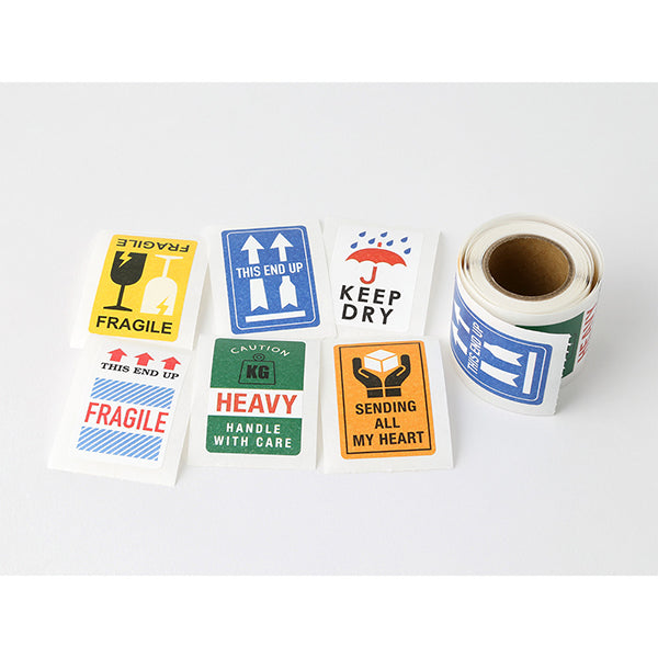 Roll Sticker // Fragile Labels