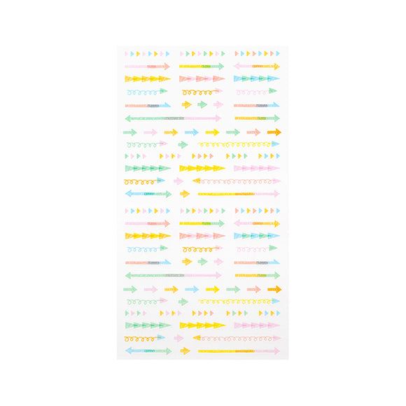 Planner Sticker / Pastel Arrows