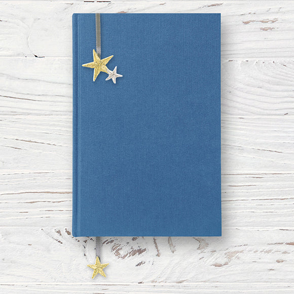 Embroidered Bookmark Sticker // Star