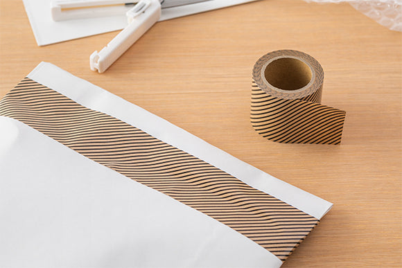 MIDORI Craft Tape for Packing / Pinstripes