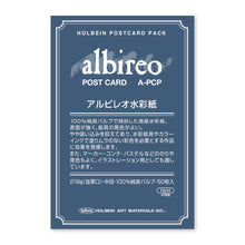 Load image into Gallery viewer, Holbein albireo Postcard Pack