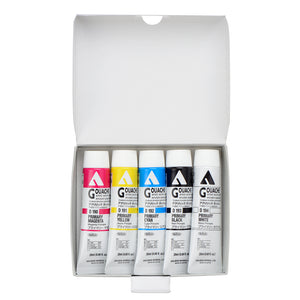 Holbein Acryla Gouache Primary Colors in 20ml Tube (5)