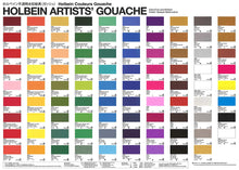 Load image into Gallery viewer, Holbein Artist's Gouache in 5ml Tube (12)