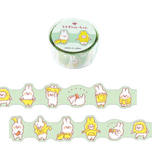 Load image into Gallery viewer, Mind Wave Die Cut Washi Tape // Rabbit Mu-Chan (Getting Ready)