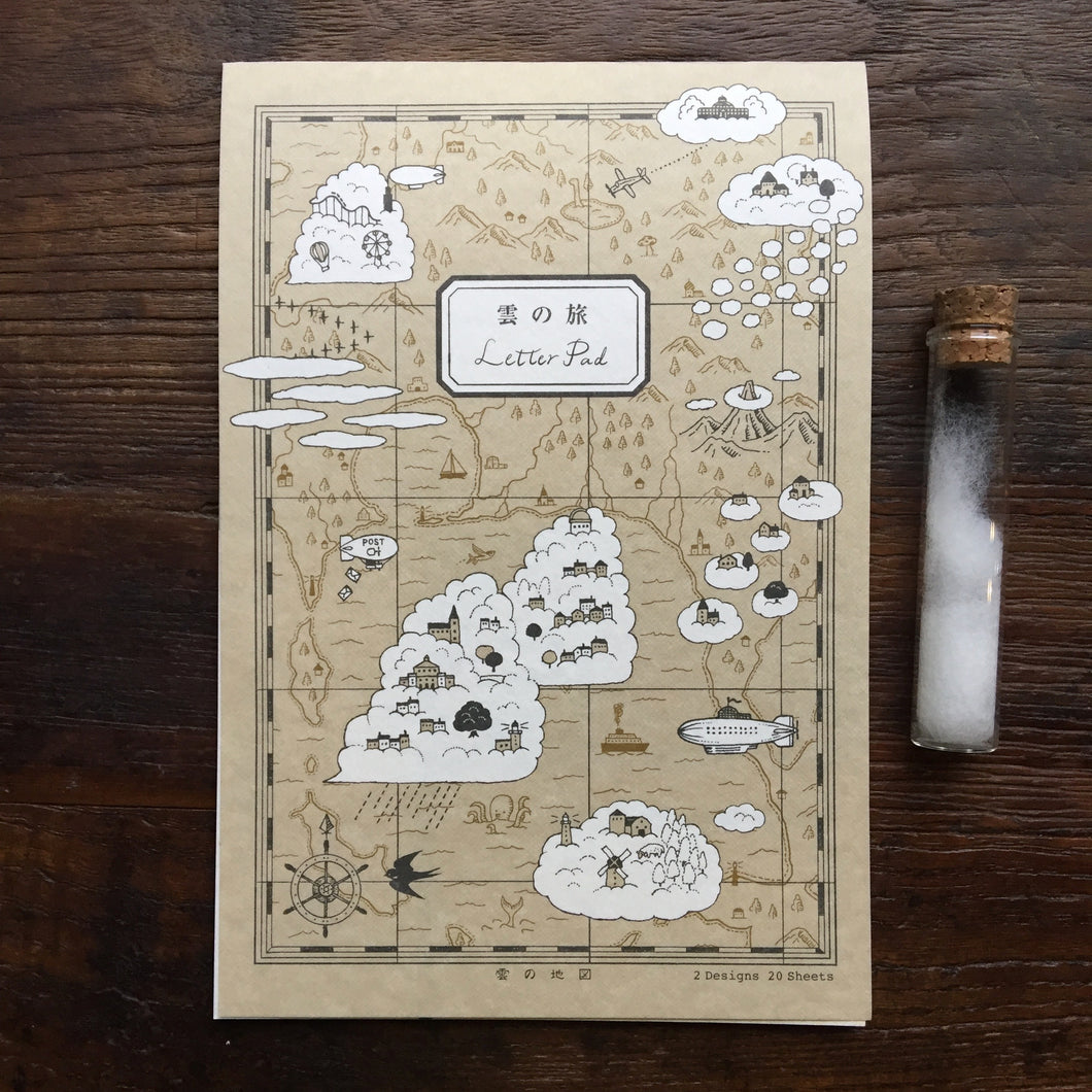 Kyupodo Letter Pad // Trip to the Clouds