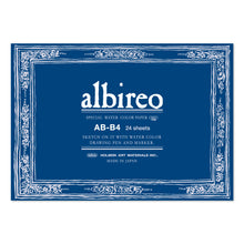 Load image into Gallery viewer, Albireo 218 GSM Gummed Watercolor Paper Pad (AB-B4)