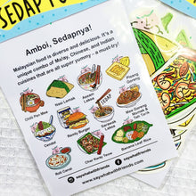 Load image into Gallery viewer, Say What? | Malaysia's Sedap Food Sticker Pack