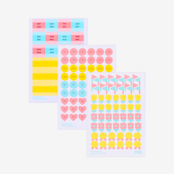 Mossery Planner Stickers