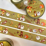 BlueBean 蓝豆 Rose Gold Foil Washi Tape // You & I