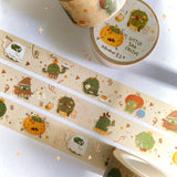 BlueBean 蓝豆 Rose Gold Foil Washi Tape // Little Sad Cactus