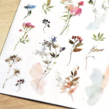 Load image into Gallery viewer, [NEW] Mu Craft Print-On Sticker // Watercolor Foliage