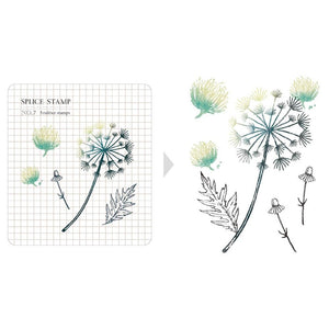 Mu Craft Clear Stamp // 07 Botanical