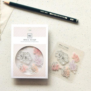 Mu Craft Clear Stamp // 15 Blossom