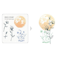 Load image into Gallery viewer, Mu Craft Clear Stamp // 20 Moon Flower