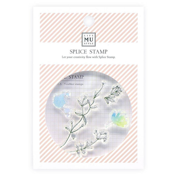 Mu Craft Clear Stamp // 06