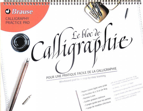 Brause A3 Calligraphy Practice Pad