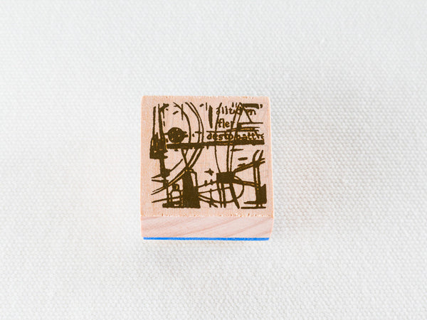 Chamilgarden Rubber Stamp Vol.2 Cafe C-3