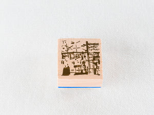 Chamilgarden Rubber Stamp Vol.2 Cafe C-5