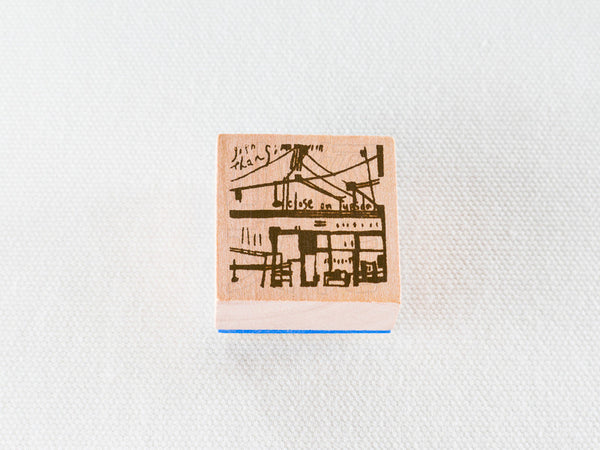 Chamilgarden Rubber Stamp Vol.2 Cafe C-6