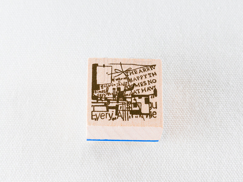Chamilgarden Rubber Stamp Vol.2 Cafe C-8