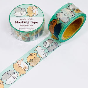 Moriyama Shinako - Goodnight Usagi Washi Tape