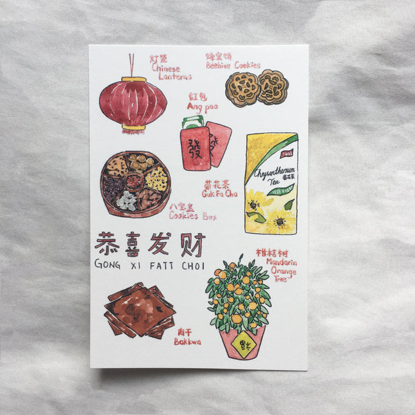 Chinese New Year Postcard II