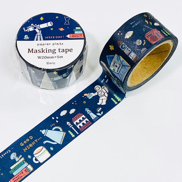 eric small things - Cosmic Foiled Washi Tape