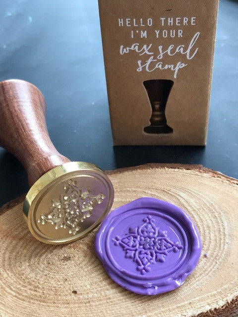 Deco SQ Wax Seal Stamp