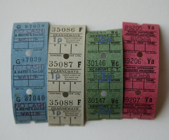 Vintage Ultimates Bus Ticket Pack C
