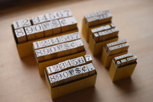 Load image into Gallery viewer, YOSOGO Peg Figure Rubber Stamp Set