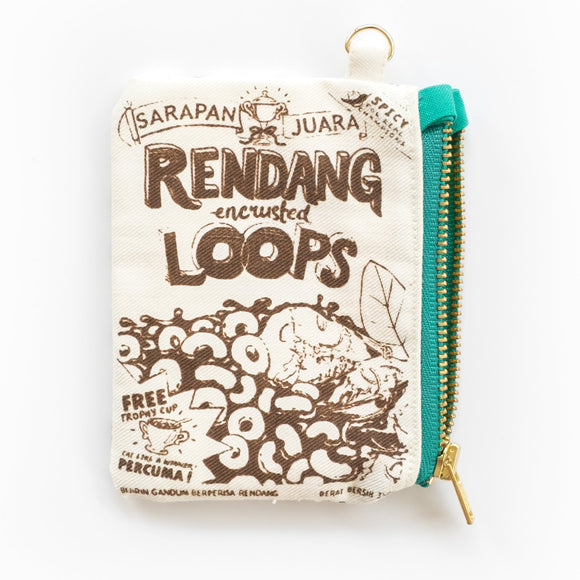 Bingka Rendang Cereal Card Pouch