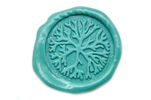 Coral Wax Seal Stamp