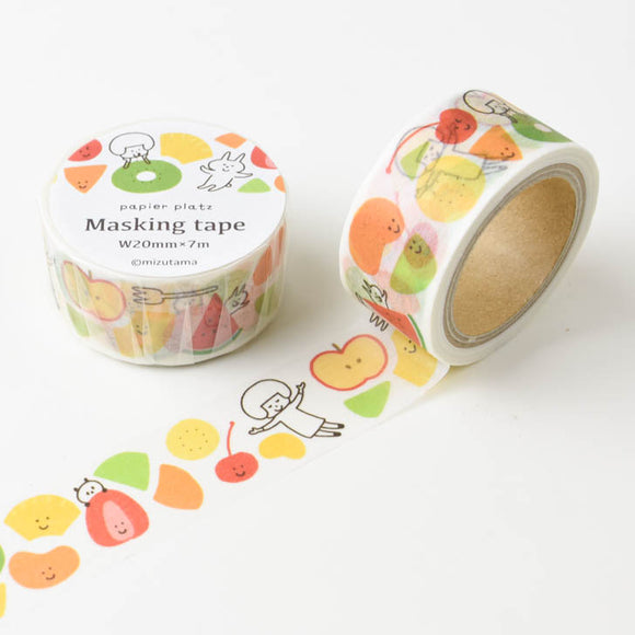 mizutama Washi Tape // Fruits