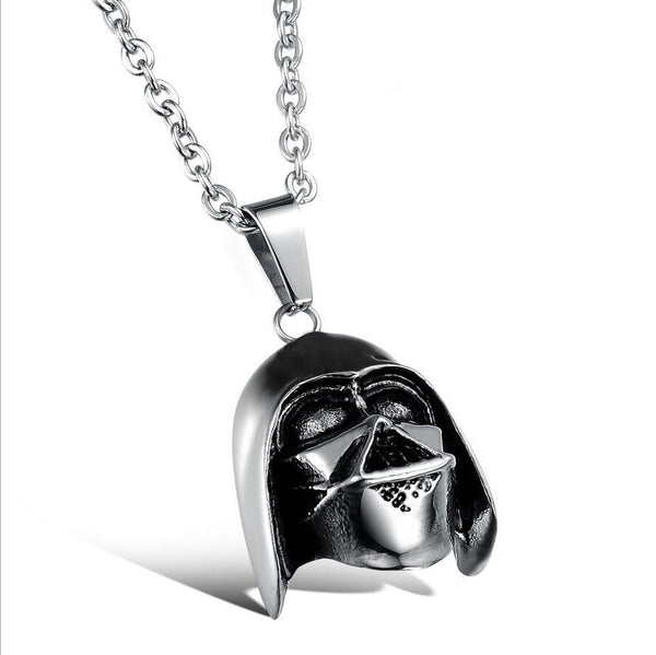 Darth Vader Necklace + Charm