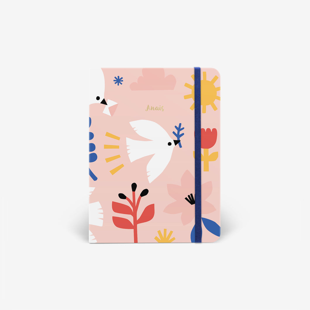 Mossery A5 Hardcover Notebook // Delivery Doves