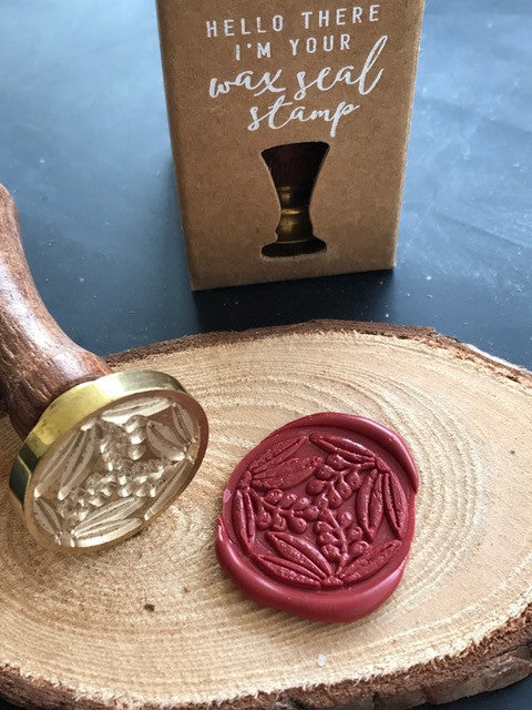 Floral Wax Seal Stamp