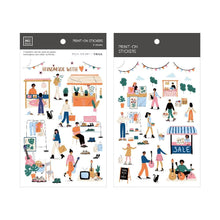 Load image into Gallery viewer, Mu Craft Print-On Sticker // Market Place