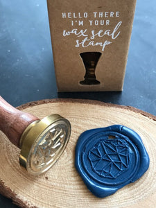 Geometry Wax Seal Stamp